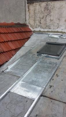 Velux sur toiture zinc - Réalisations